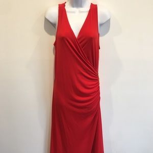 MICHAEL by Michael Kors Tomato Red Dress- NWT-M/L